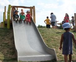eibe broad add-on slide for inclusive play