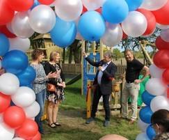 Opening of Bentley Play Park