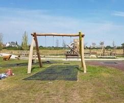 Timber-framed swings