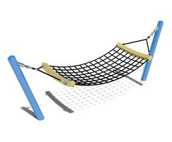 eibe fantallica hammock with metal posts
