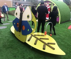 Sensory play area and garden for health charity