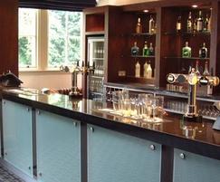 Granite worktop for bar