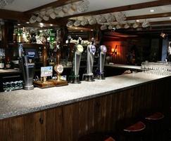 Granite worktop for Souter Johnnie's bar