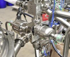 M600 valves, 650 BioStar actuators, 1236 switchboxes