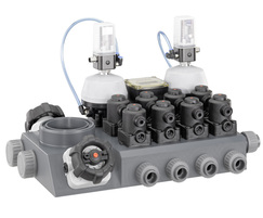 GEMÜ M-Block multi-port valve block