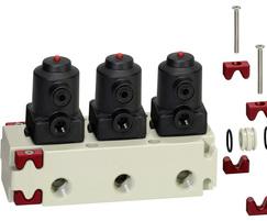 GEMÜ M-Block extendable multiport valve block