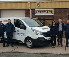 GEZE UK: New service office gives GEZE UK a head start