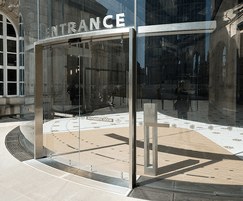 Slimdrive SC automatic curved sliding doors
