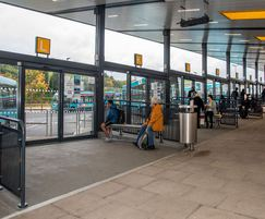 Door gear supplied for Telford Bus Station