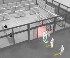 GEZE Counter flow control for building entrances