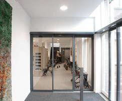 Slimdrive SLT automatic sliding door drive - care home