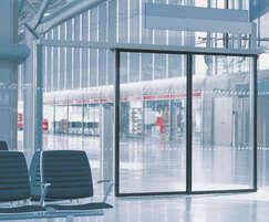 Slimdrive SLT automatic sliding door drive - airport