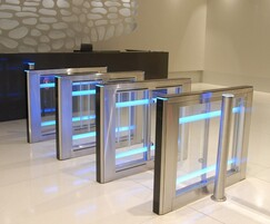 SW100 Slim - turnstiles with a sweeper system