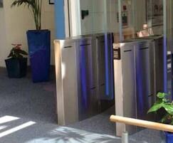 SB200 - turnstiles with blades