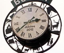 Good Directions: Commemorative clock now has pride of place in Burley