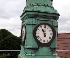 Old clock tower prior to refurbishment