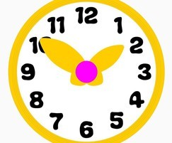 Artwork for CBeebies Hotel clock