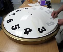 Placing numbers on CBeebies Hotel clock