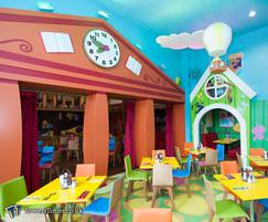 Bezel clock for CBeebies Hotel