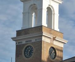 Clock tower near Dorset