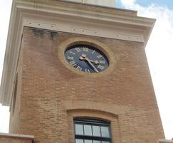 Roman-style clock for housing development