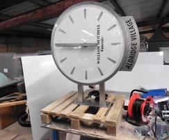 Bespoke drum clock