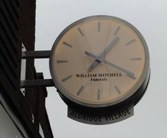 Bespoke drum clock for funeral director