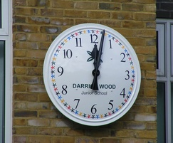 Bespoke clock for Darrick Wood Junior School