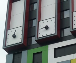 Bespoke clocks for student accommodation