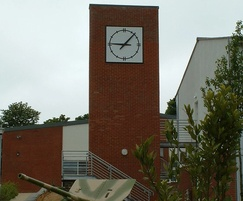 Bespoke outdoor clock for army barracks