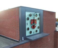 Bespoke clock for school