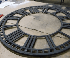 Replica clock face