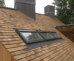 The shingles will soften as they weather