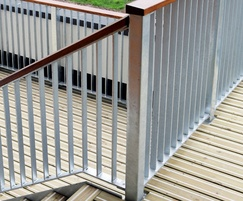 Decking for large areas
