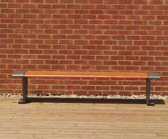 JB Standard decking - south London regeneration scheme