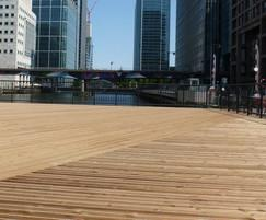CPD timber decking: design, specification, maintenance