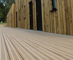 Treehouse non slip decking