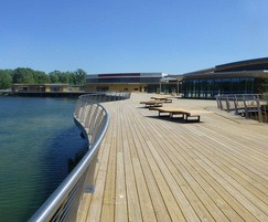 Rushden Lakes is a 500,000 sq ft shopping centre