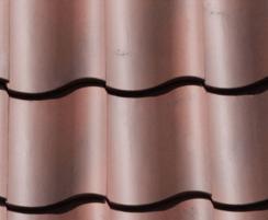 Rustic Red clay pantile