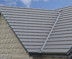 Interlocking concrete roof slates