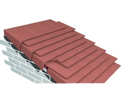 Marley colour-matched cloak verge tiles