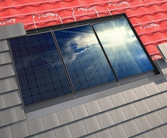 Marley SolarTile® roof-integrated solar tiles