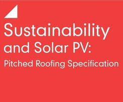 Sustainability and solar PV for pitched roofs CPD