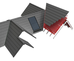 SolarTile® integrates with the full Marley roof system