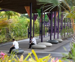 Pendeen Pebble Seats at Gardens by the Bay, Singapore