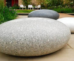 The Pico Sculptural Pebble Seat by Ben Barrell