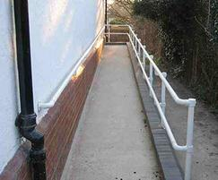 Kee Access® handrails are DDA-compliant