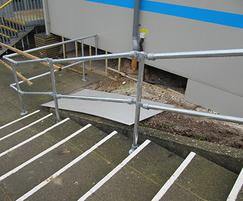 Handrail made using Kee® components