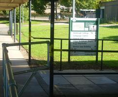 Handrail system for university