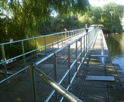 Handrails improve bridge safety